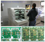 100mm / s CNC PCB Router , Windows Routing Bit Sectioning Twin Table PCB Separator Machine