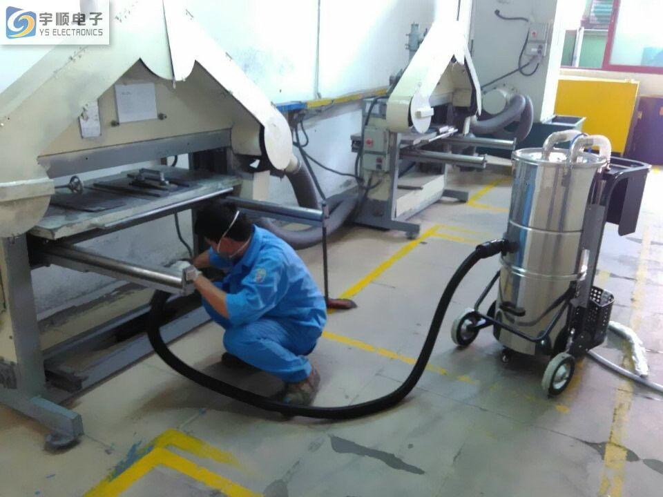 Industrial Air Cleaners : L high efficiency filter industrial wet dry vacuum